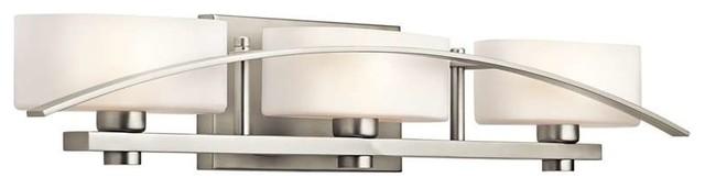 Kichler Suspension Contemporary Bathroom Light.