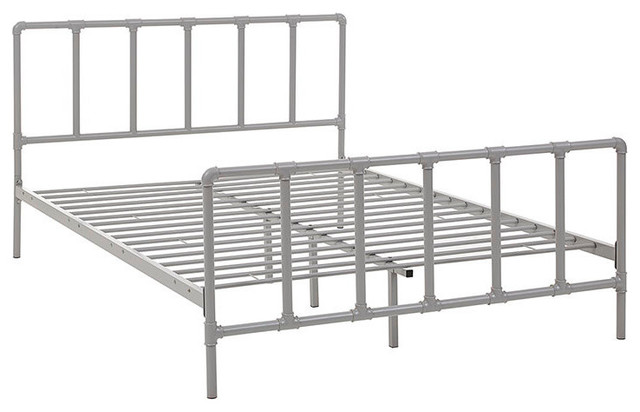 Dower Queen Stainless Steel Bed.