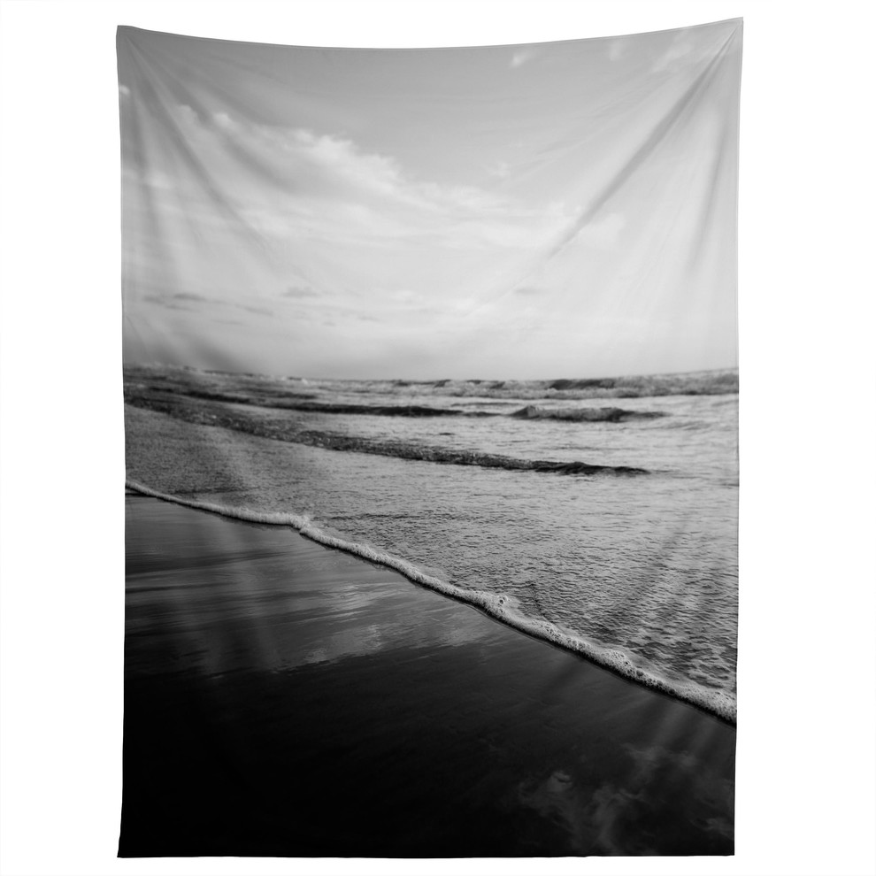 Deny Designs Bree Madden Ombre Black Tapestry Beach Style Tapestries By Deny Designs