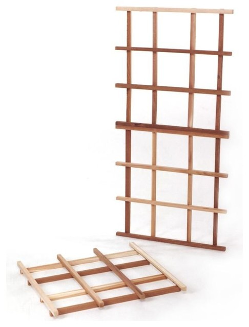 All Things Cedar Expandable Cedar Trellis Kit.