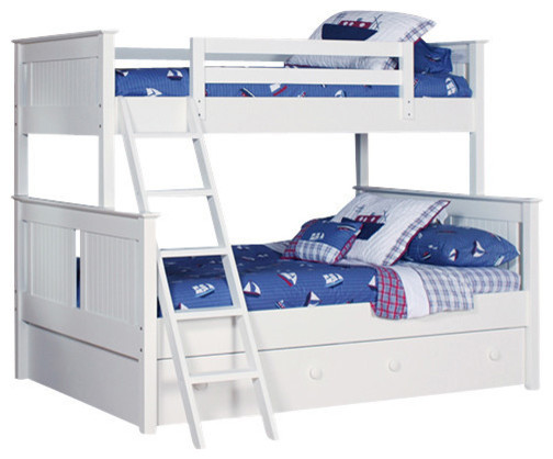 Dakota Twin-Over-Full Bunkbed, With Trundle.