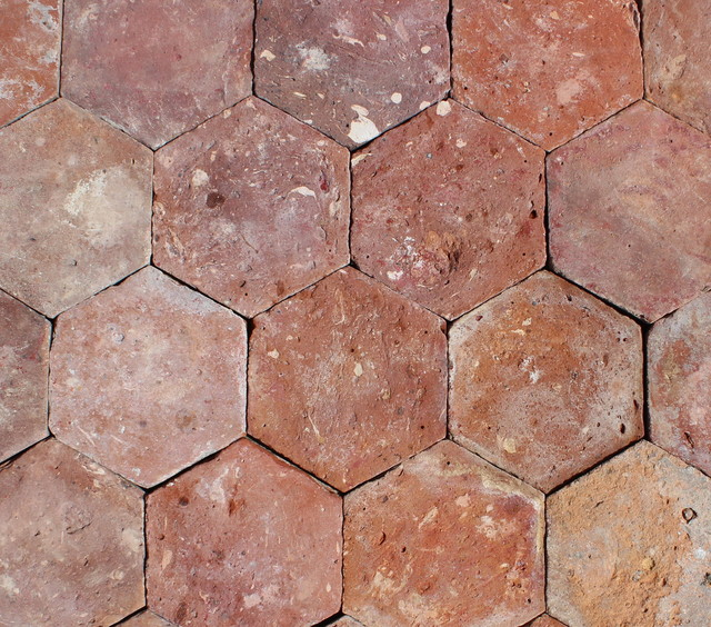 6x6 Reclaimed French Terracotta Hexagonal Set Of 450