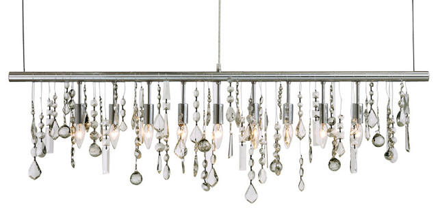 Crystal Pendant Light - Contemporary - Pendant Lighting - by BELLA ...
