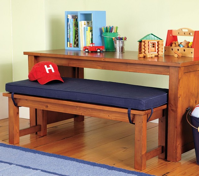 Cameron Table Amp Bench Traditional Kids Tables And