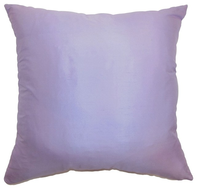 Decorative Pillows Plain : Desdemona Plain Pillow Lavender - Contemporary - Decorative Pillows - by The Pillow Collection Inc.