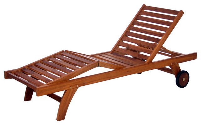 All Things Cedar Tl78 Mult-Position Chaise Lounger.