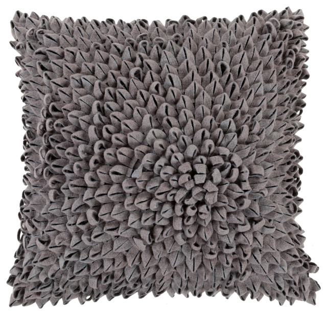 Dahlia Pillow 18x18x4, Polyester Fill.