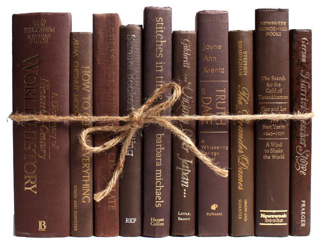 Decorative Books, Modern Chocolate ColorPak