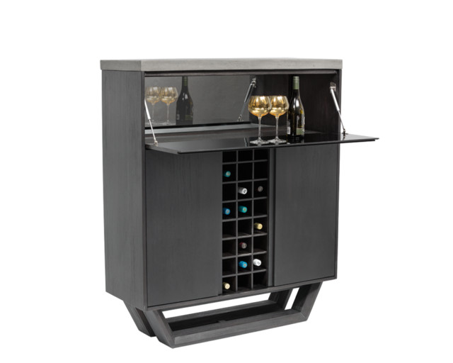 Langley Wine Cabinet - Wine And Bar Cabinets - by Sunpan Modern Home