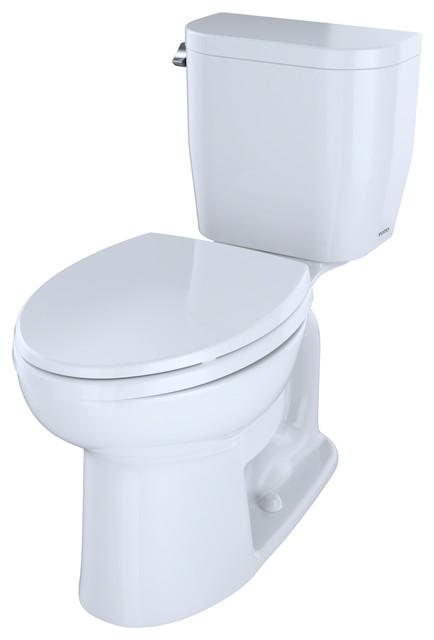 Toto Entrada Close Coupled Elongated Toilet 1 28gpf