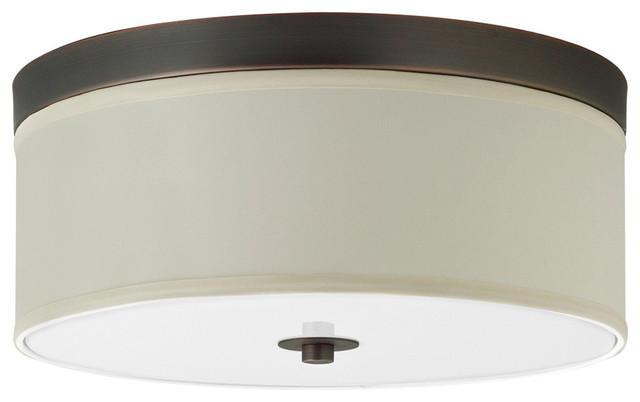 Occhio 15 Two Light Ceiling Light Lamp Contemporary Flush Mount Cei