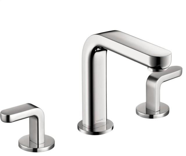 Hansgrohe Metris S Widespread Faucet Contemporary Bathroom Sink Faucets By Studio41 Home