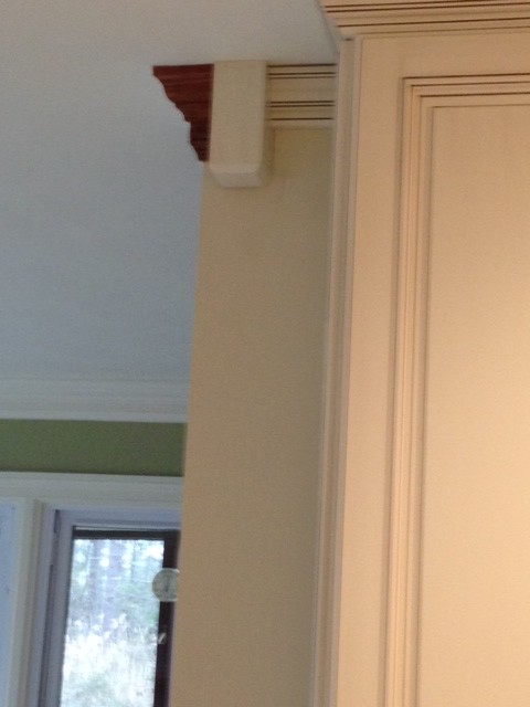 Transition For Crown Moulding Size Difference