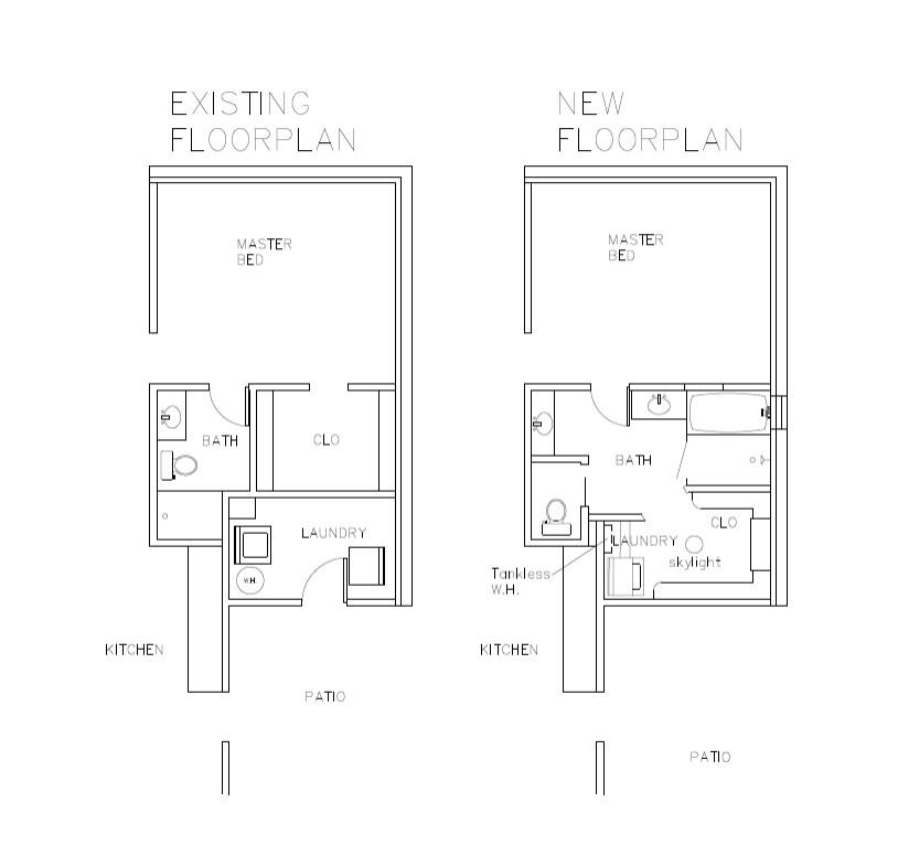 Floorplan reconfigure