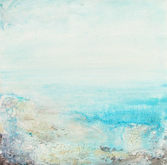 Textured Seascape Original Painting Paintings By Zatista