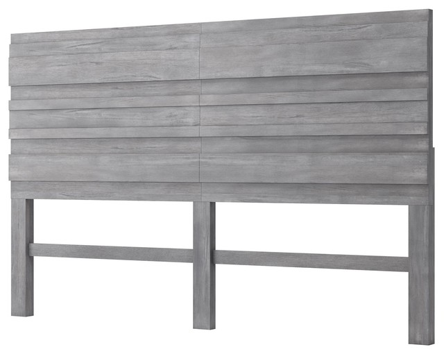 Sensational Modern Contemporary Urban Design Headboard King Size Gray Wood Andrewgaddart Wooden Chair Designs For Living Room Andrewgaddartcom
