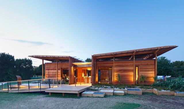 Houzz Tour: An Award-winning Ecofriendly Home on the New Zealand Coast