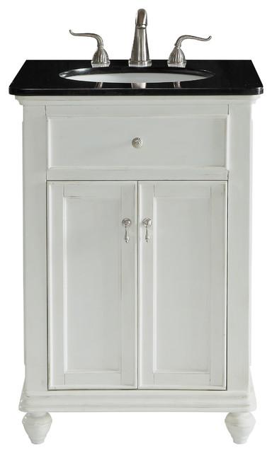 24 Single Bathroom Vanity Set Antique, Antique White Bathroom Vanity Lights