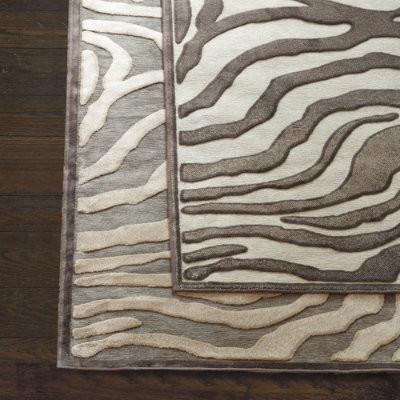 gold zebra stenciled hide rug zebra rug