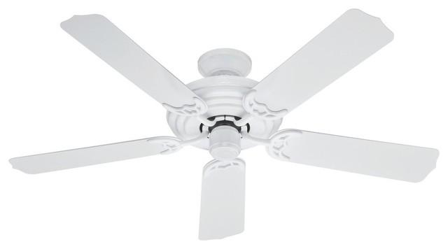 """Hunter Sea Air Ceiling Fan, White, 52"""""""