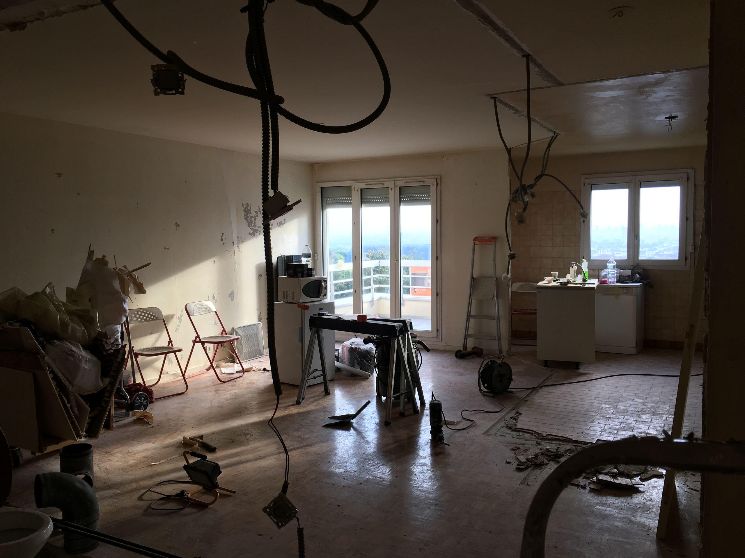 Rénovation totale d'un appartement - 67m2
