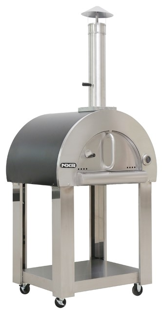 Nxr Wood Fired Pizza Oven And Cart.