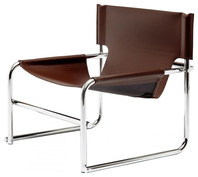 T-1 Sling Chair, Brown
