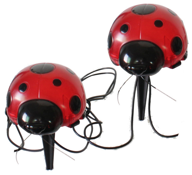 Charmant All Products · Outdoor · Outdoor Lighting. Solar Ladybugs, 4 Piece Set