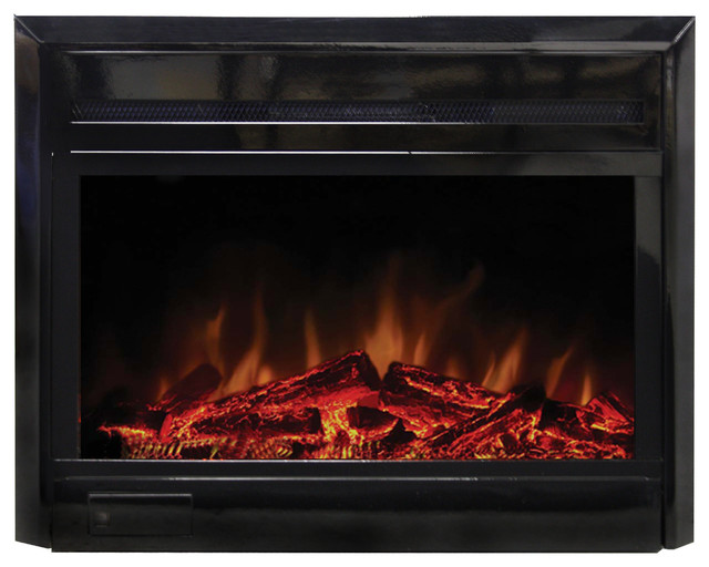 28 Quot Fireplace Insert Contemporary Indoor Fireplaces