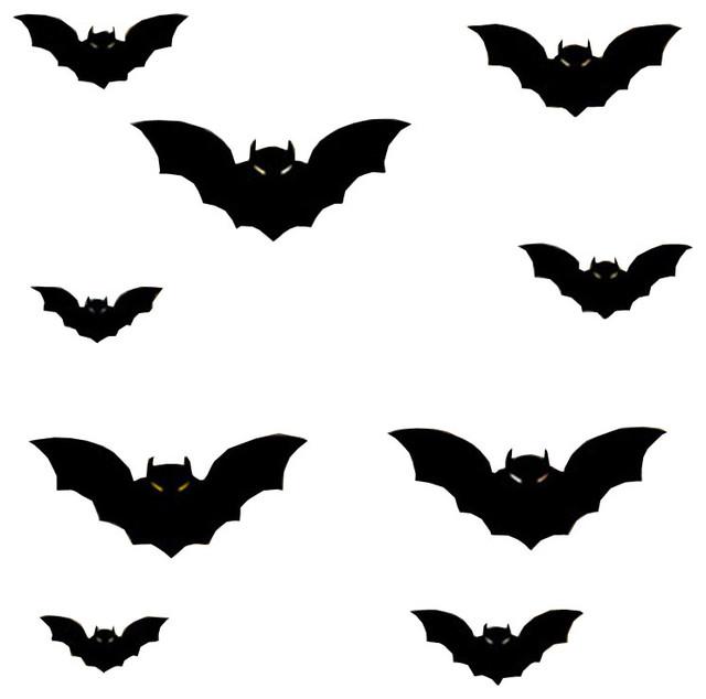 Wall Sticker Evil Bat Windowdecor