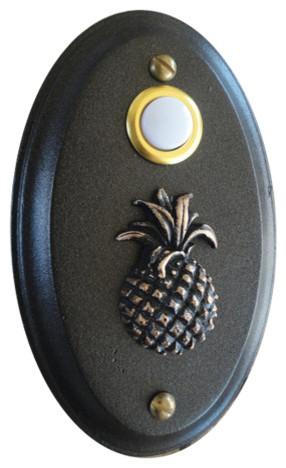 Tropical Pineapple Doorbell Tropical Doorbells And