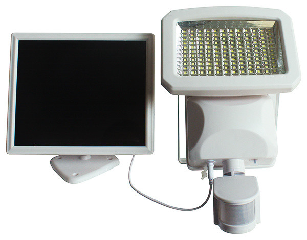 Motion Activated Flood Lights Solar Powered : Outdoor led solar powered motion activated security