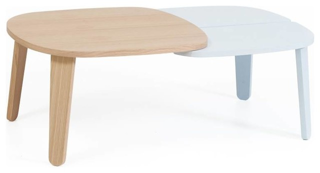 Expandable Coffee Table Simple Harto Colette Expandable Coffee Table  Scandinavian  Coffee Inspiration Design