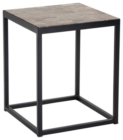 Annis Side Table Industrial Side Tables And End Tables By Basin And Vessel