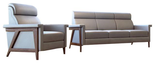 Harvard Full Leather Sofa.
