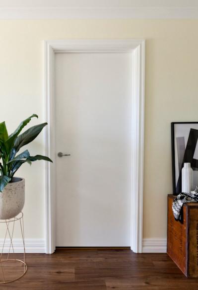 Metal Door Frames Or Timber Architrave