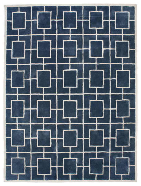 Classic Collection Hilton Stormy Weather Hand-Tufted Rug, 300x200 cm