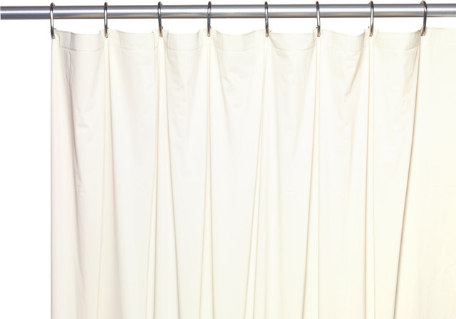 54 Wide X 78 Long Stall Size 5 Gauge Vinyl Shower Curtain Liner Traditional Shower