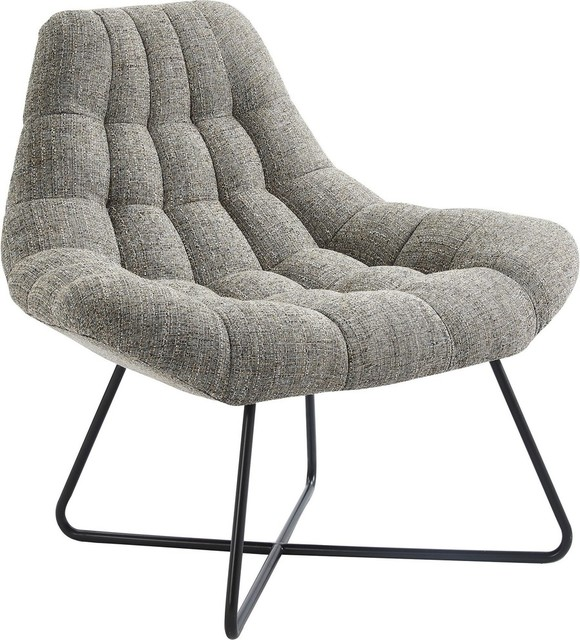 Sqaure Mid Century Modern Accent Chairs.Oversize Accent Chair Camel Blend