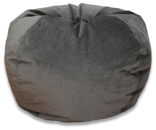 Michael Anthony Large Velvet Bean Bag Chair