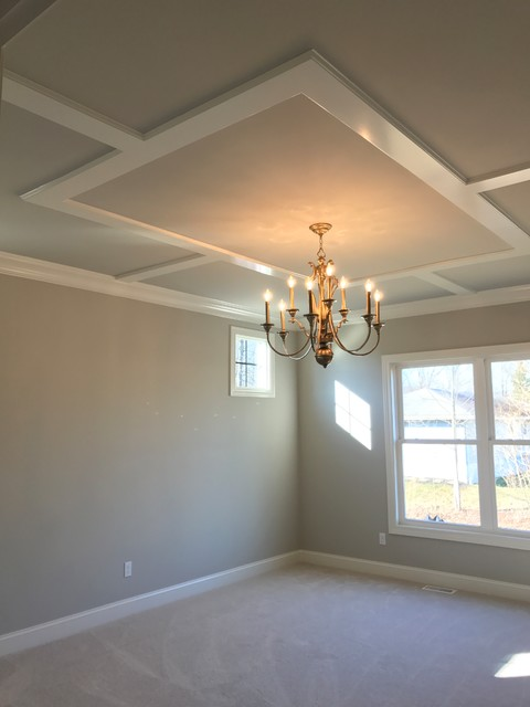 Example of an arts and crafts bedroom design in Cleveland