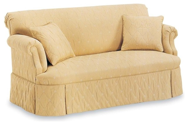 Superior FAIRFIELD CHAIR CO   Tight Back Sofa W Tight Seat (Fabric: Amber)