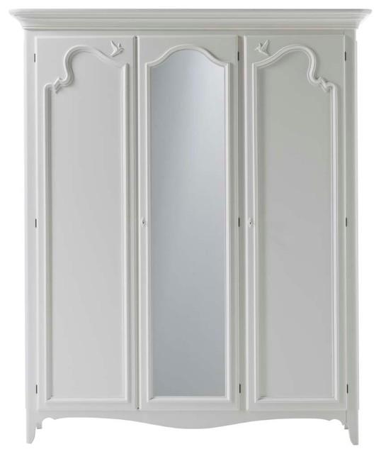 Wardrobe With 3 Hinged Doors