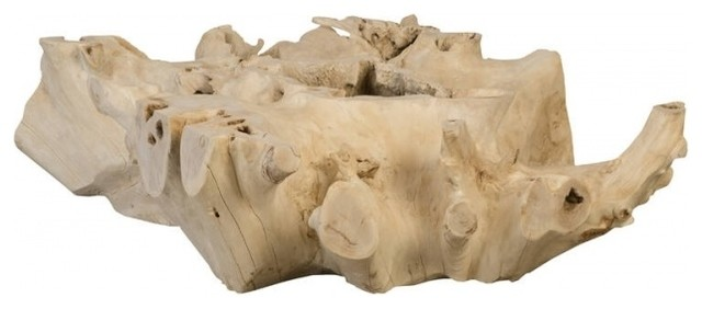 Miraculous 48 W Colin Coffee Table Natural Free Form One Of A Kind Solid Teak Wood Root Ncnpc Chair Design For Home Ncnpcorg