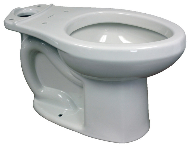 Brilliant H2Option Siphonic Dual Flush Right Height Elongated Toilet Bowl Only White Beatyapartments Chair Design Images Beatyapartmentscom