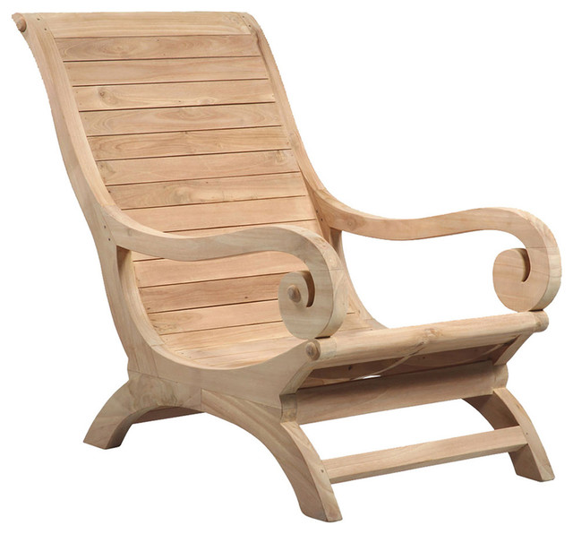 teak wood lounge chair traditional outdoor lounge chairs by design mix furniture. Black Bedroom Furniture Sets. Home Design Ideas