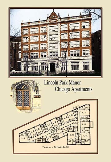 Inc Lincoln Park Manor Chicago Apartments View In Your Room Houzz