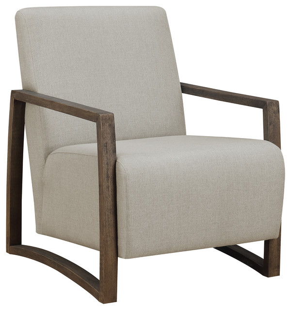 Picket House Furnishings Maverick Accent Chair, Linen