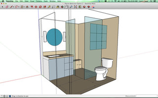 Can you spot any challenges with this bathroom design for Bathroom ideas 7x7