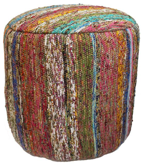 Sari Rug Stool by Design Mix Furniture